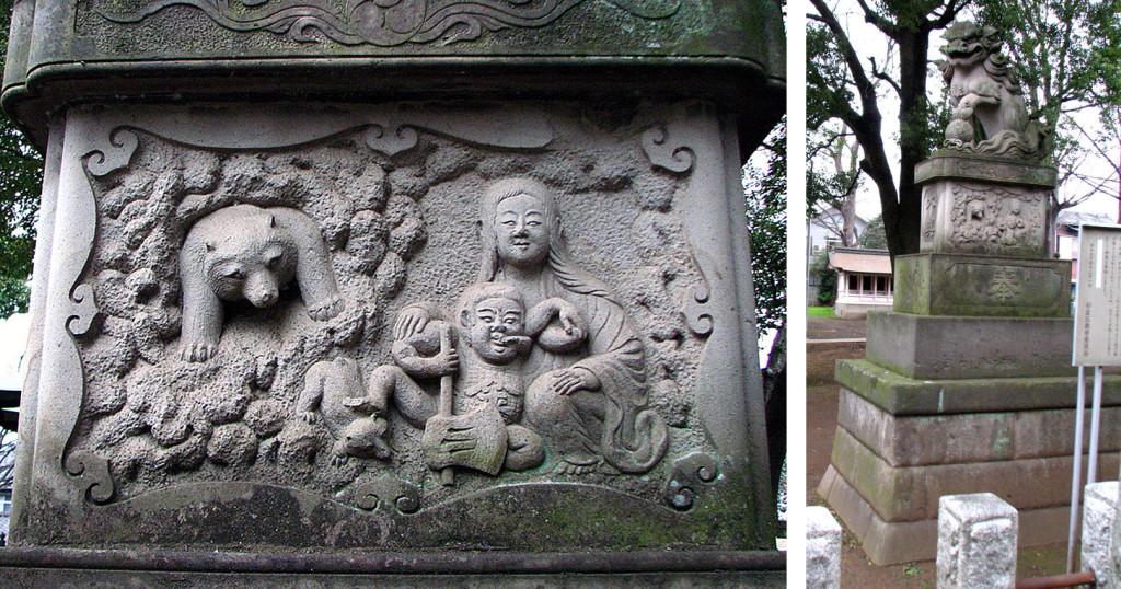101  第六天神社の金太郎#