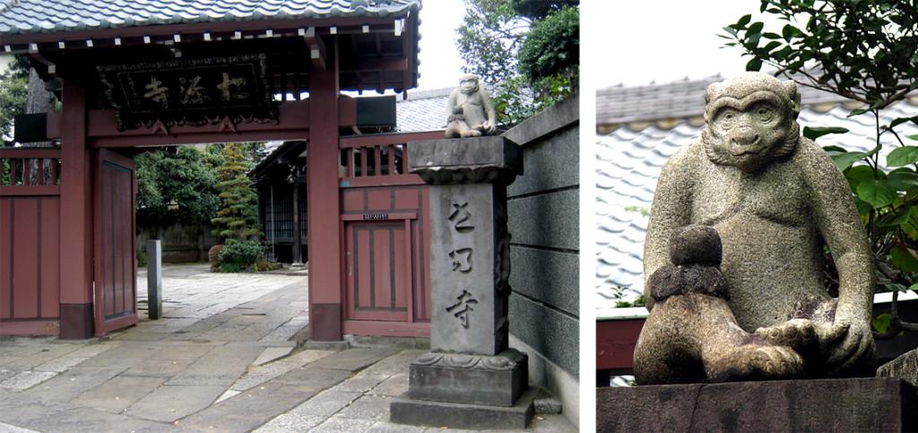 松源寺の猿