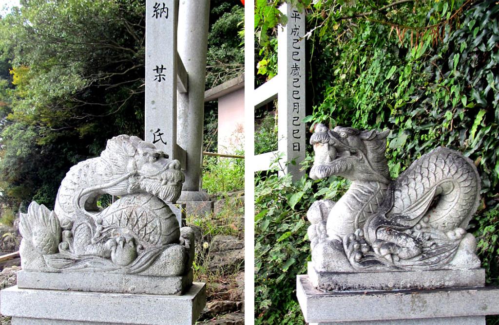 1-2 竹生島放生会斎庭(ほっしょうえゆにわ)の龍Br02#