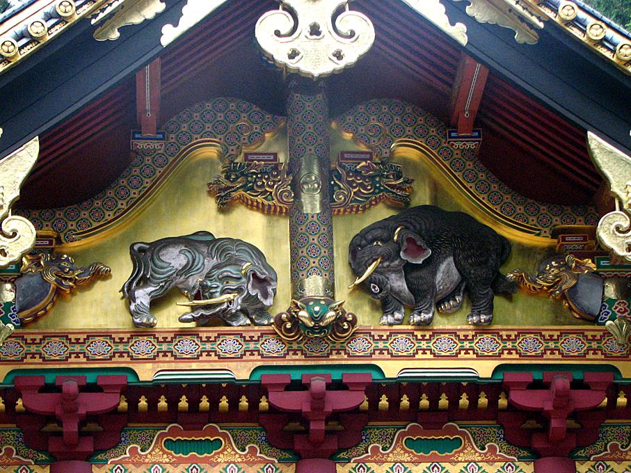 3-1 _上神庫-想像の象  1462r40#