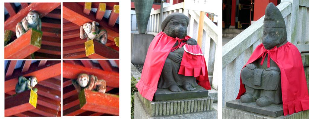 5  日吉大社の棟持ち猿と江戸山王神社の猿r02#