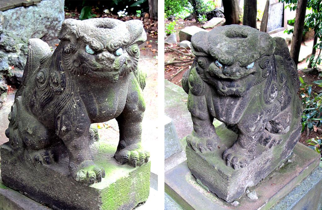3-2 品川神社内御嶽神社左右r02