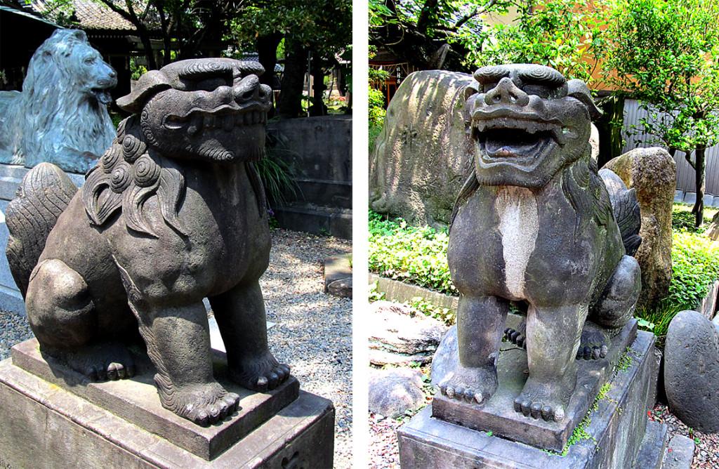 8-2 三囲神社狛犬左右r02#