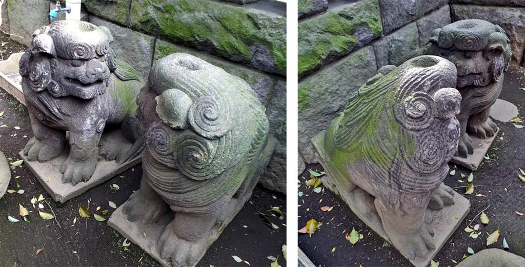 6-A 元麻布氷川神社のカッパ狛犬AR03#