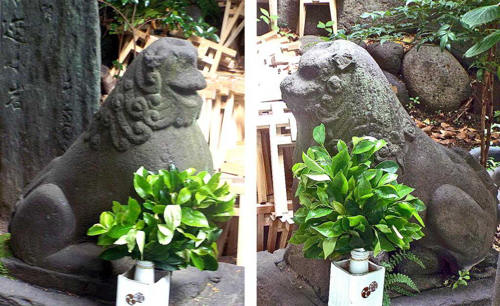 10-2 スサノオ神社内浅間神社左右