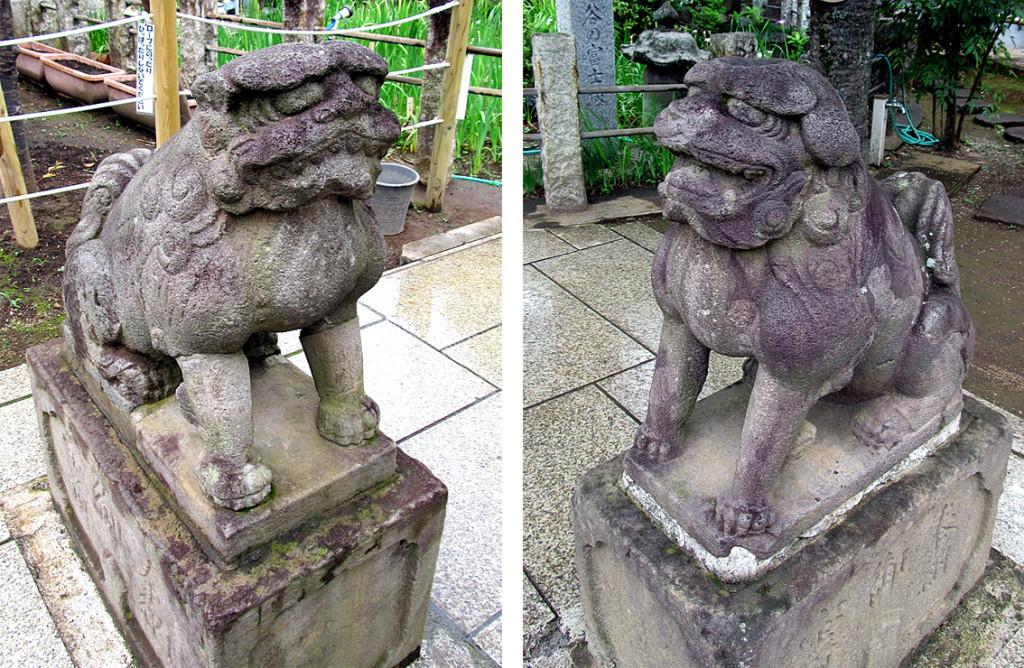 12-2 鳩森八幡内浅間神社前左右r02#