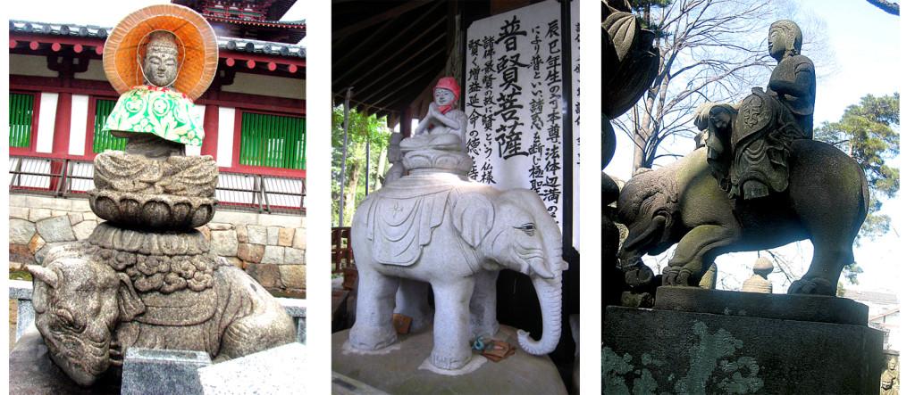 2-1 普賢菩薩と象1