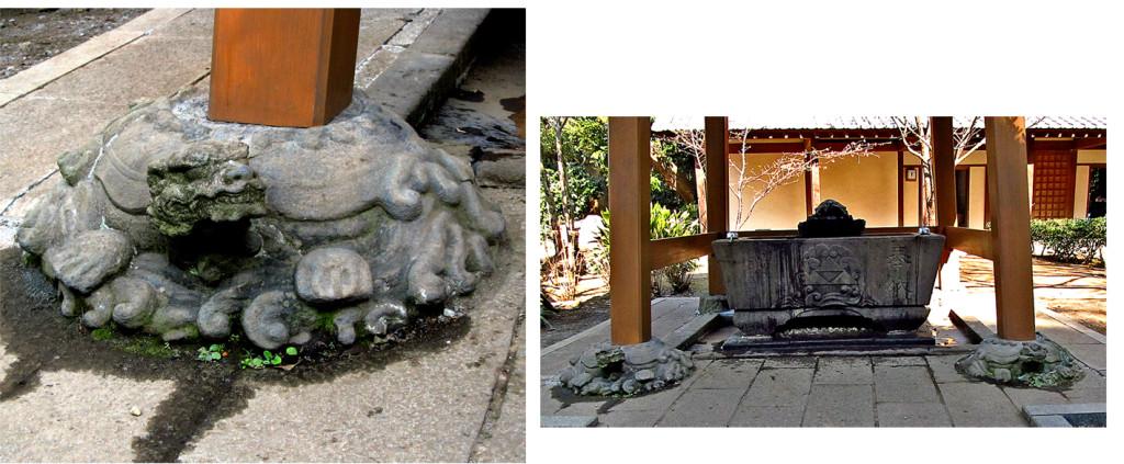 11 江の島奥津宮手水舎