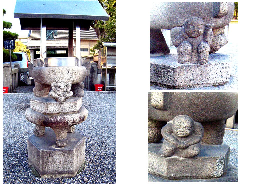17 東寺の石造香炉